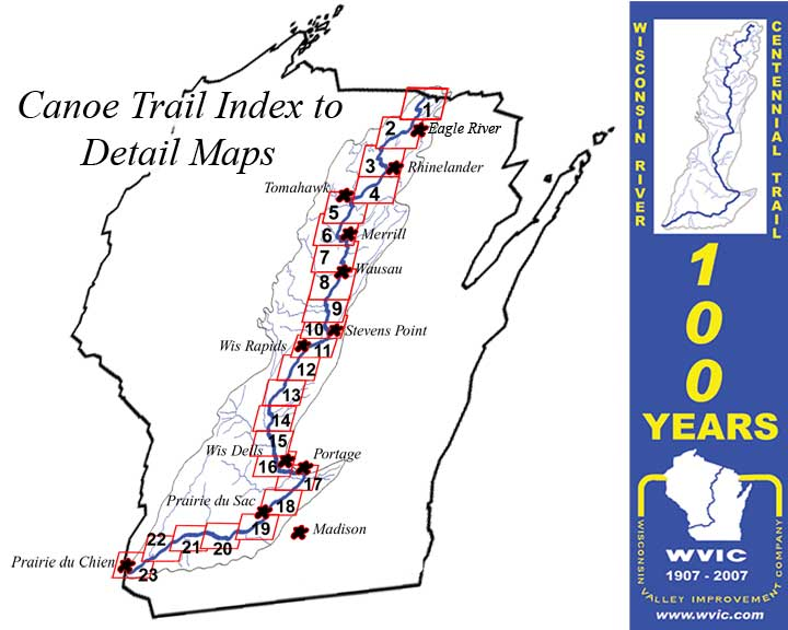 Wisconsin river centennial trail maps and details publicscrutiny Gallery