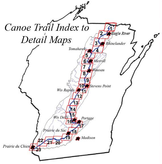 Wis River Canoe Trail