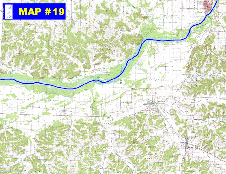 MAP 19 Lower Wisconsin State Riverway