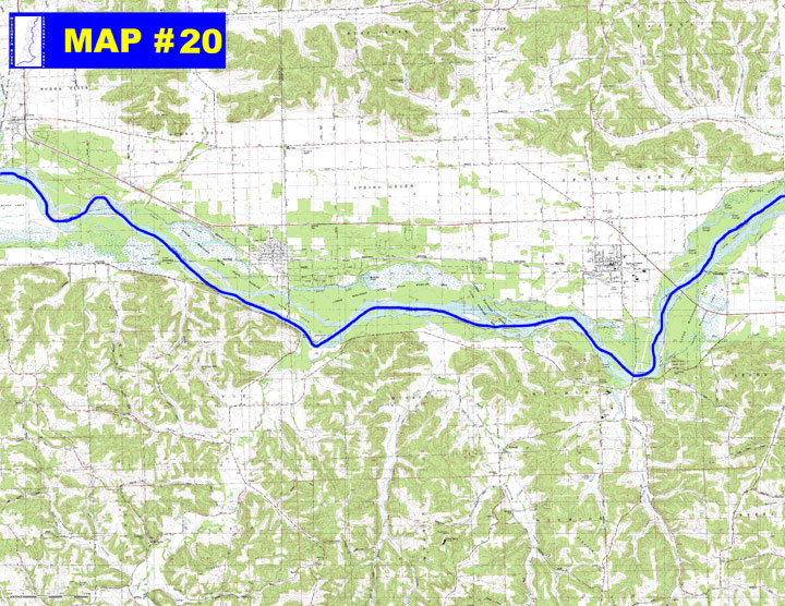 MAP 20 Lower Wisconsin State Riverway