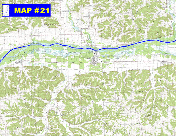 MAP 21 Lower Wisconsin State Riverway
