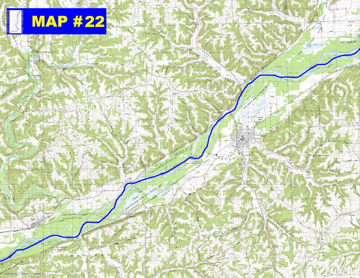 MAP 22 Lower Wisconsin State Riverway