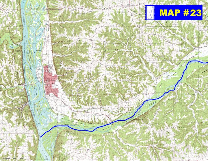 MAP 23 Lower Wisconsin State Riverway